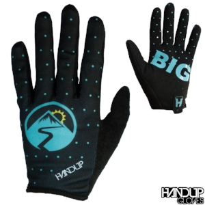 Go Big - Looney Dots - Black/Teal Gloves