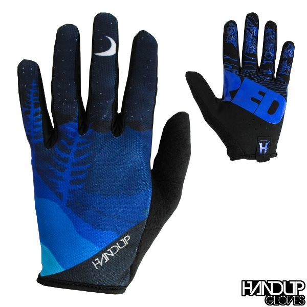 Shred Night blue mountain bike glove.jpg