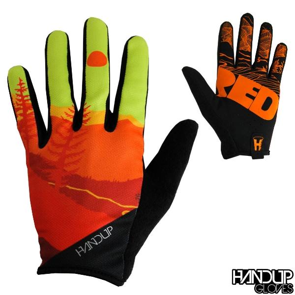 shred day yello orange red mountian bike glove.jpg