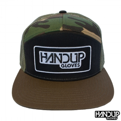 fall-camo-7-panel-trucker-handup-gloves-cycling-logo-hat1.jpg