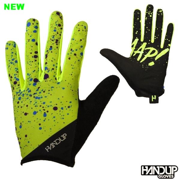 hi vis highlighter braaaap splatter handup cycling mtb long finger mountain bike gloves (2).jpg
