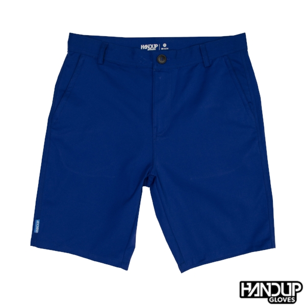 Casual 4-way stretch mountain bike active lifestyle shorts Blue