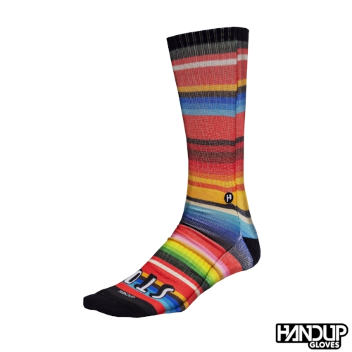 Stoked-Serape-Athletic-MTB-Cycling-Sock