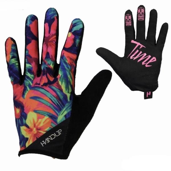 the miami handup gloves floral print fun mtb long finger gloves (1).jpg