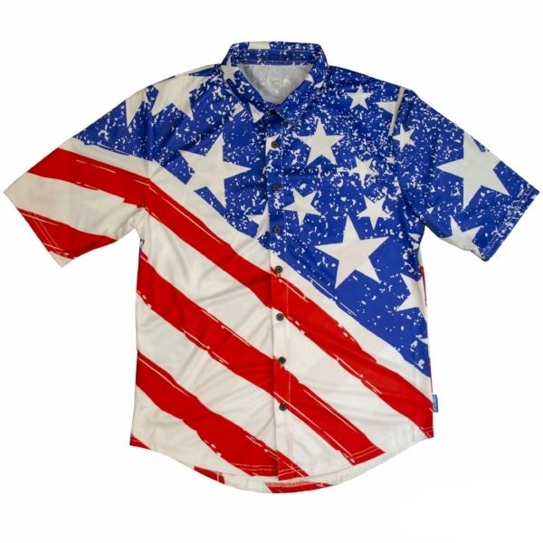 Merican Full Button Up Riding Hawaiian Jersey-front.jpg
