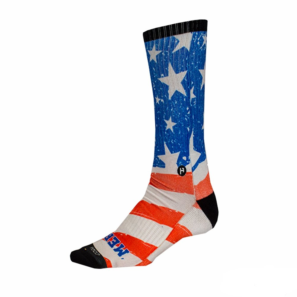 Foot Down Socks - The Merican  ON SALE -  $5