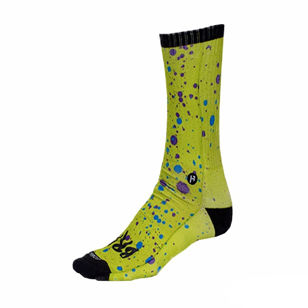 Foot Down Socks - The Splatter  ON SALE -  $5