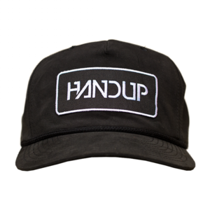 Pinch Front Snapback - Black  $20.00