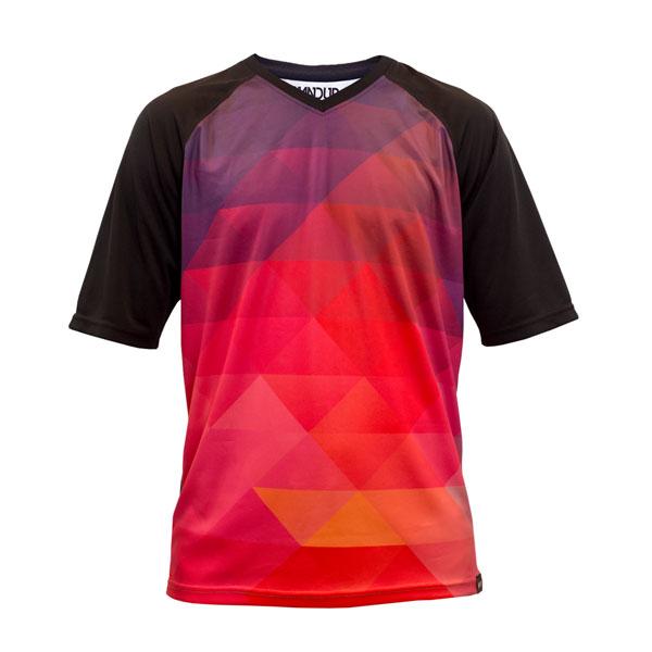 Pink Prizm cycling jersey affordable mtb jersey handup gloves jersey (2).jpg
