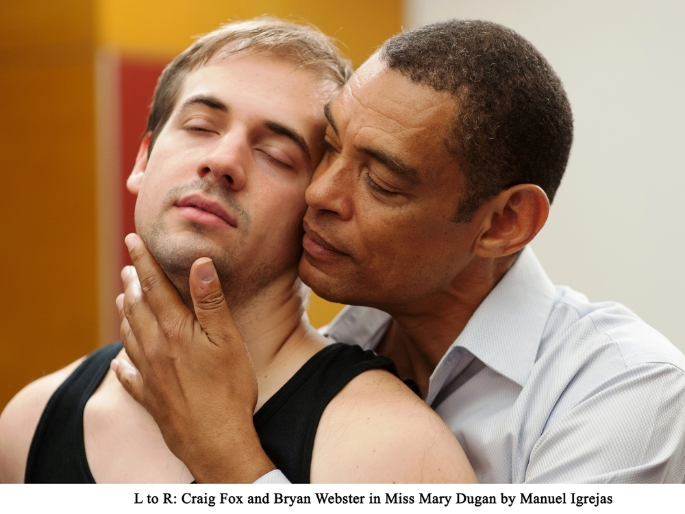 Craig Fox and Bryan Webster close up in a scene from Miss Mary Dugan by Manuel Igrejas.jpg