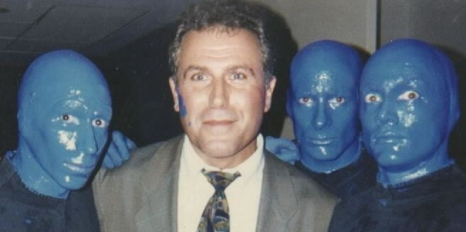 With the Blue Man creators, Matt, Phil and Chris near the beginning. What started as a handful of true believers turned into an artist-driven entertainment phenomenon that entertained millions worldwide. Those were good times.