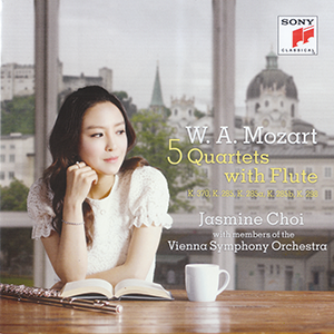 W.A. Mozart 5 Quartets Flute by Jasmine Choi