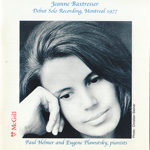 Debut Solo, 1977    Flute by Jeanne Baxtresser