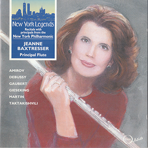 New York Legends    Flute by Jeanne Baxtresser