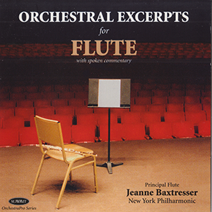 Orchestral Excerpts    Flute by Jeanne Baxtresser