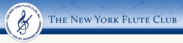 New York Flute Club Composition Competition