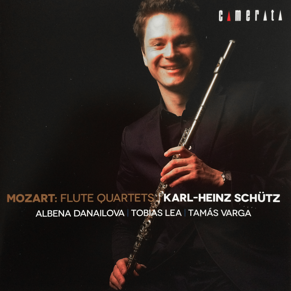 Mozart: Flute Quartets Flute by Karl-Heinz Schutz