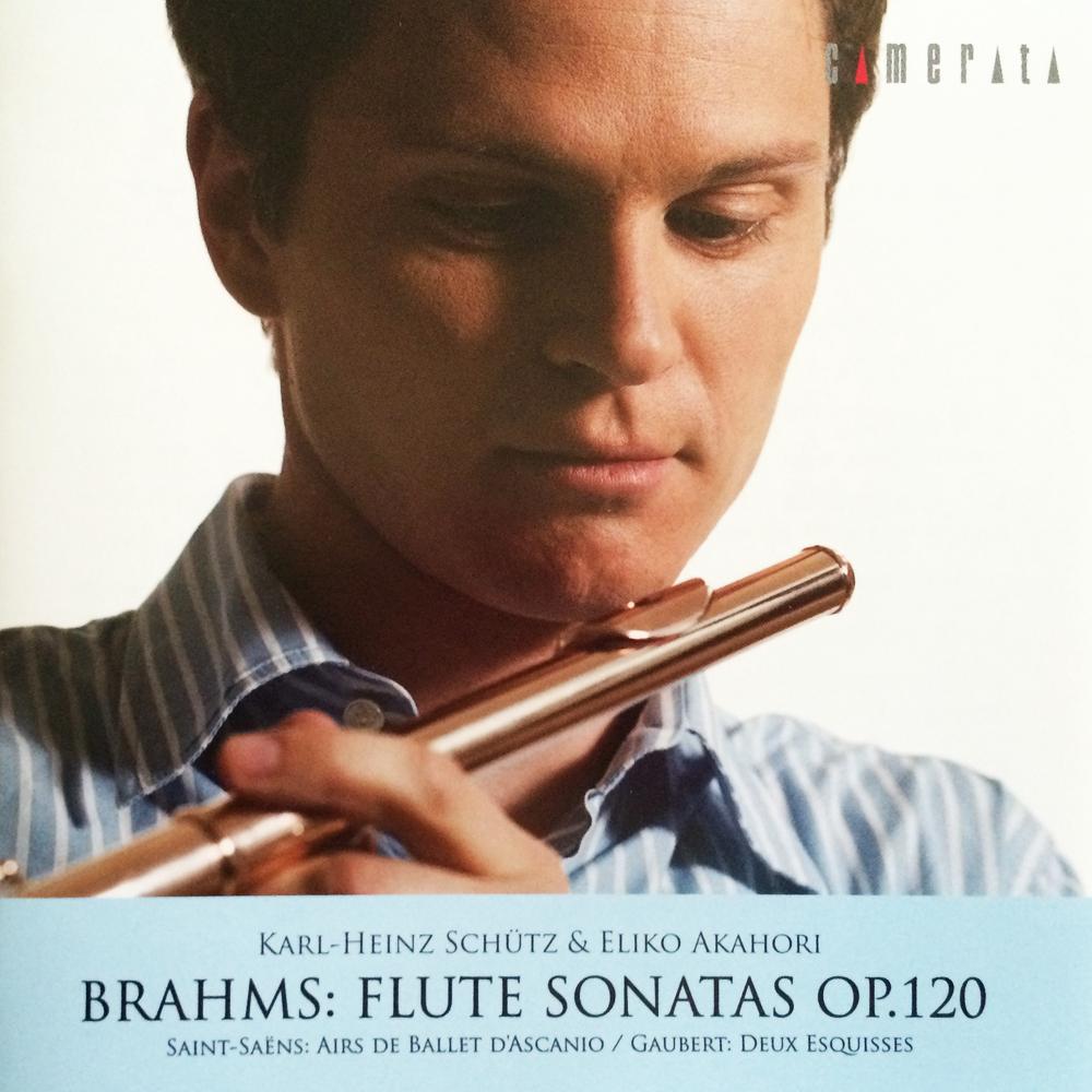 Brahms Sonaten Opus 120 Flute by Karl-Heinz Schutz
