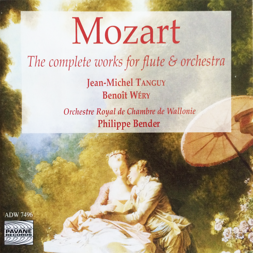 Mozart    Flute by Jean-Michel Tanguy