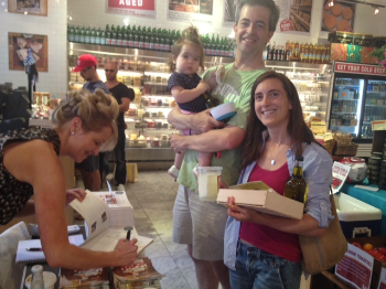"Children love Real Greek Feta! Hilary sampled our Watermelon Salad and with an excited ""Yes!"", literally giving mommy and daddy her approval.  She too wants pizza tonight!"