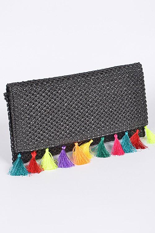 Fringe purse $38