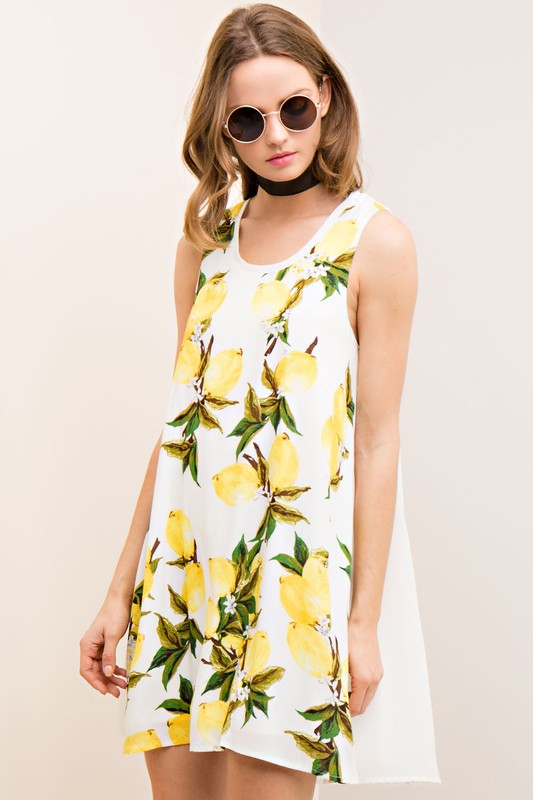 Lemon dress $42
