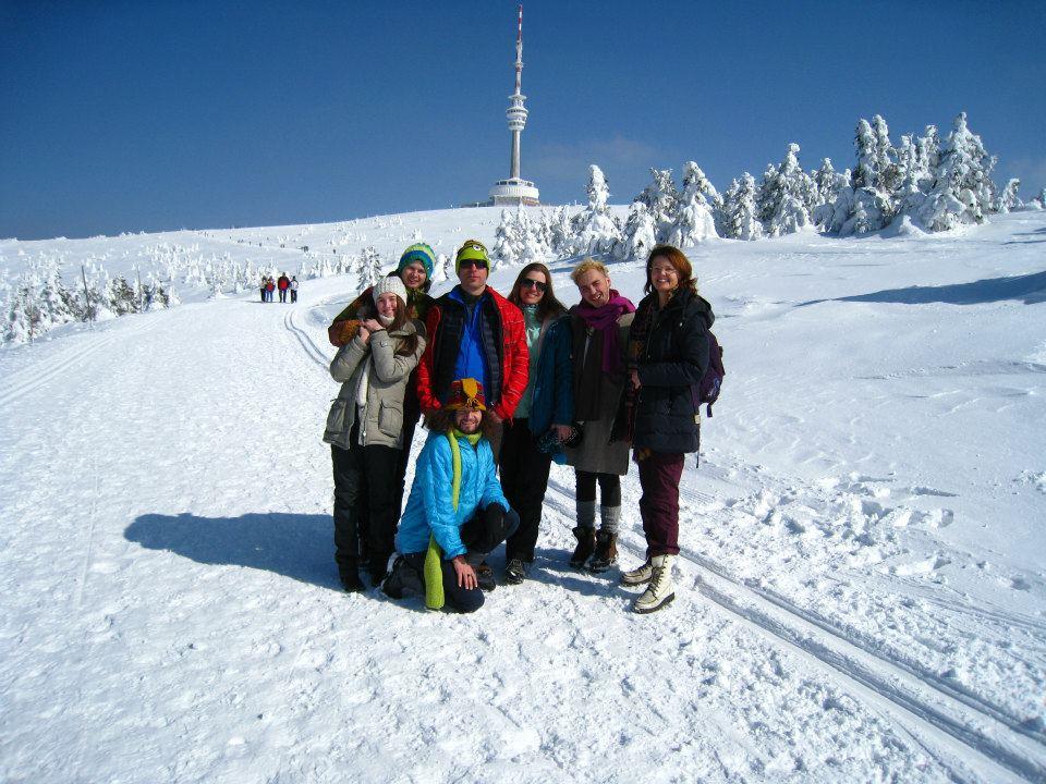 Praděd je nejvyšší hora Moravy a Slezska (1492 m) je symbolem Jeseníků i celého kraje.