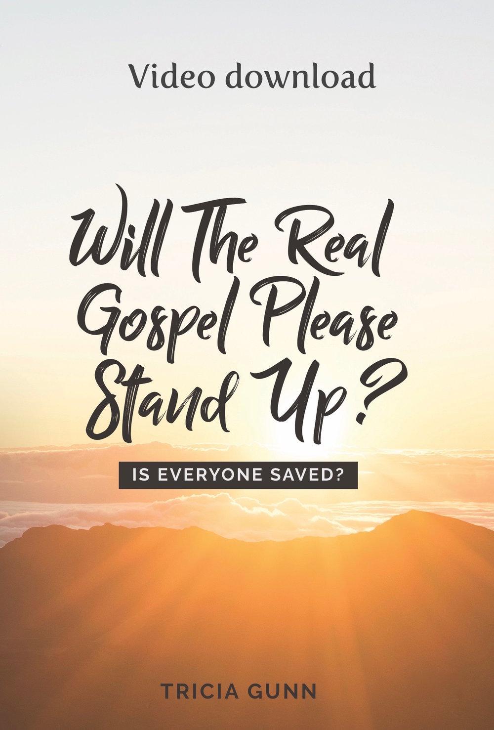 RealGospel--Is Everyone Saved? video.jpg