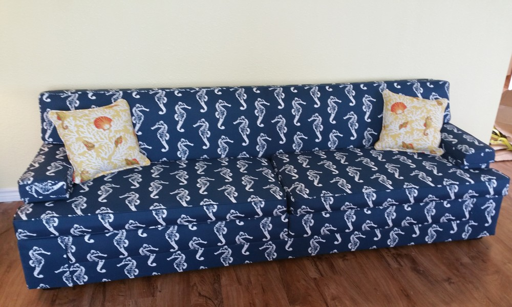 Beach house sofa