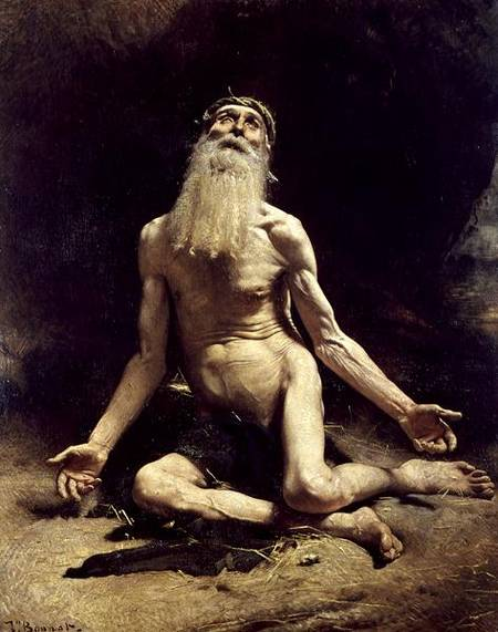 Léon Bonnat  Job  (C19th).