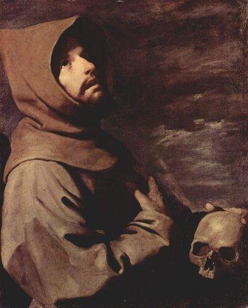 Francisco de Zurbáran St Francis (c. 1660)