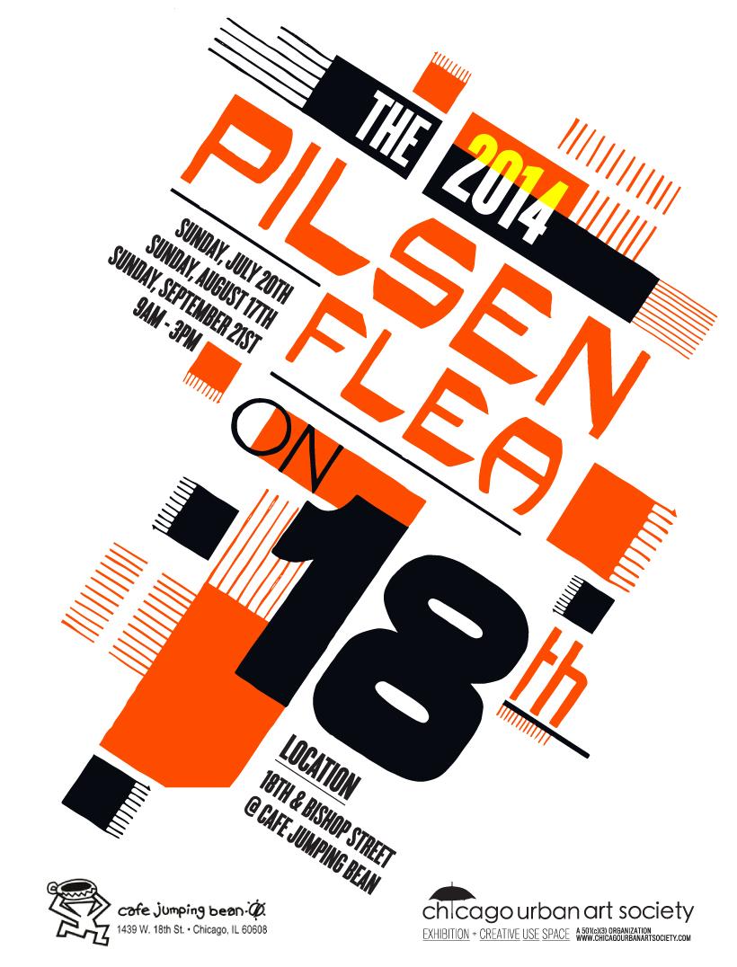 Pilsen Flea Market Pop Up Chicago Urban Art Society Cuas