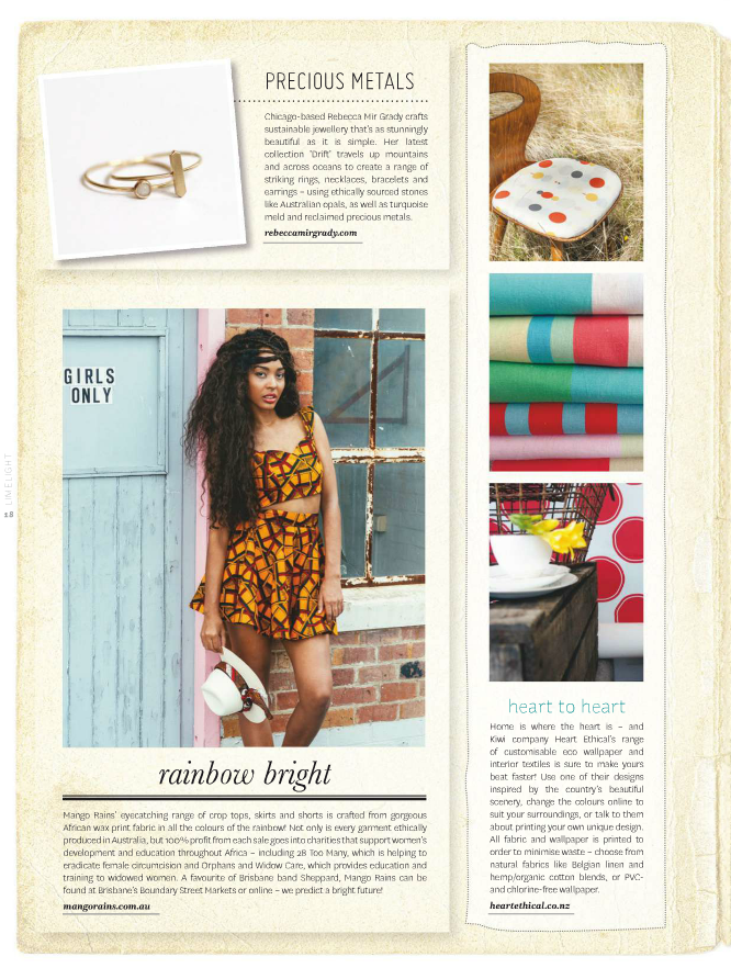 Peppermint Magazine Summer 2014 Rebecca Mir Grady