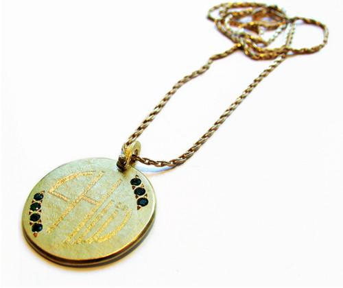 Sophie Hughes Gold necklace