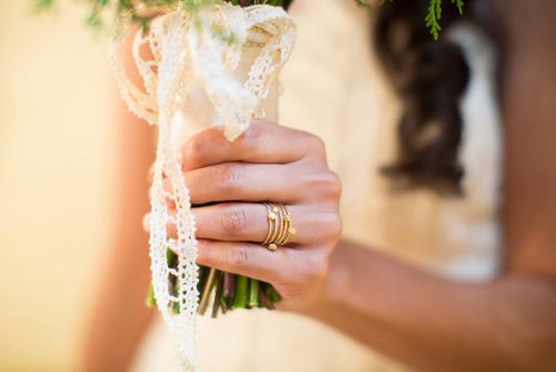 Sophie Hughes Gold rings