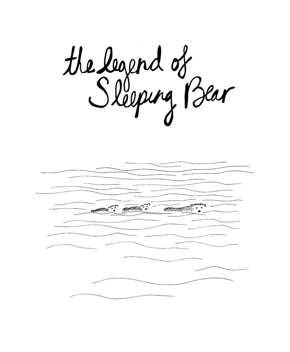 the legend of sleeping bear dunes