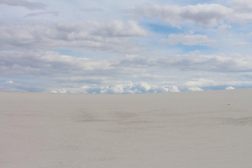 White Sands - rebecca mir grady