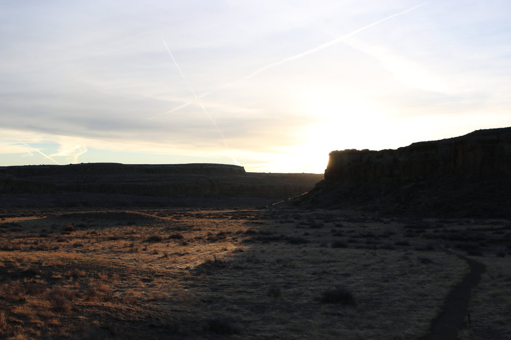 sunrise at chaco - rebecca mir grady
