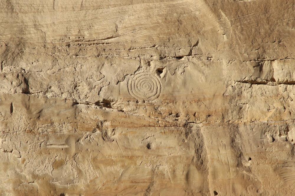 Petroglyphs near Chetro Ketl