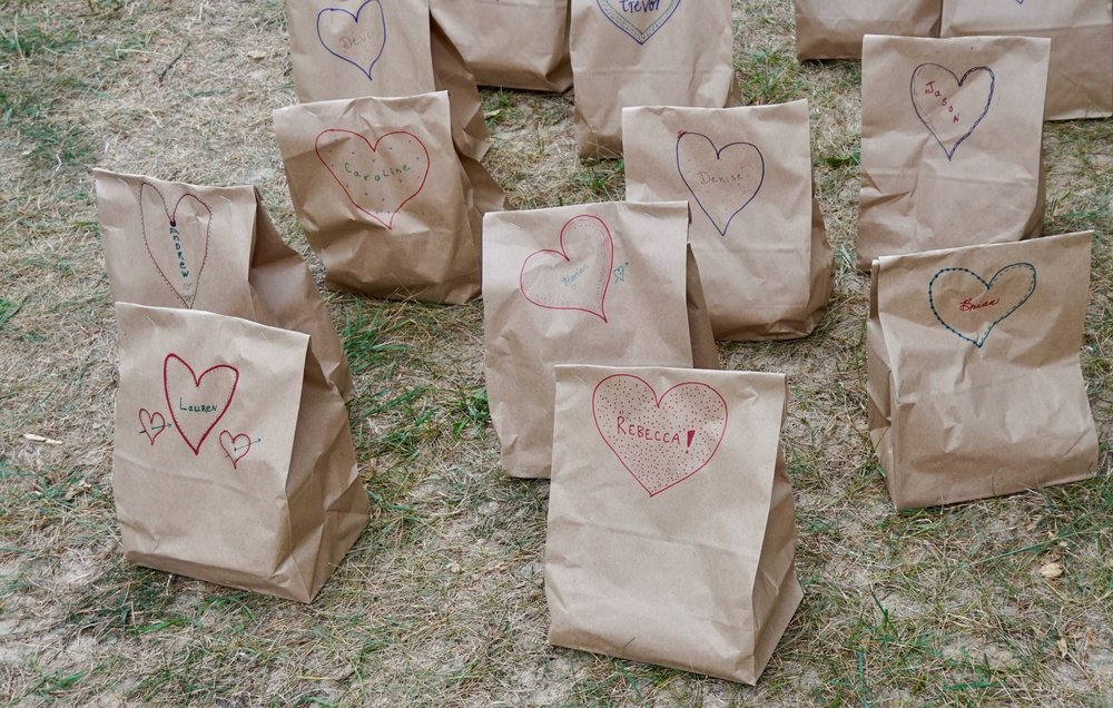 wedding picnic bags