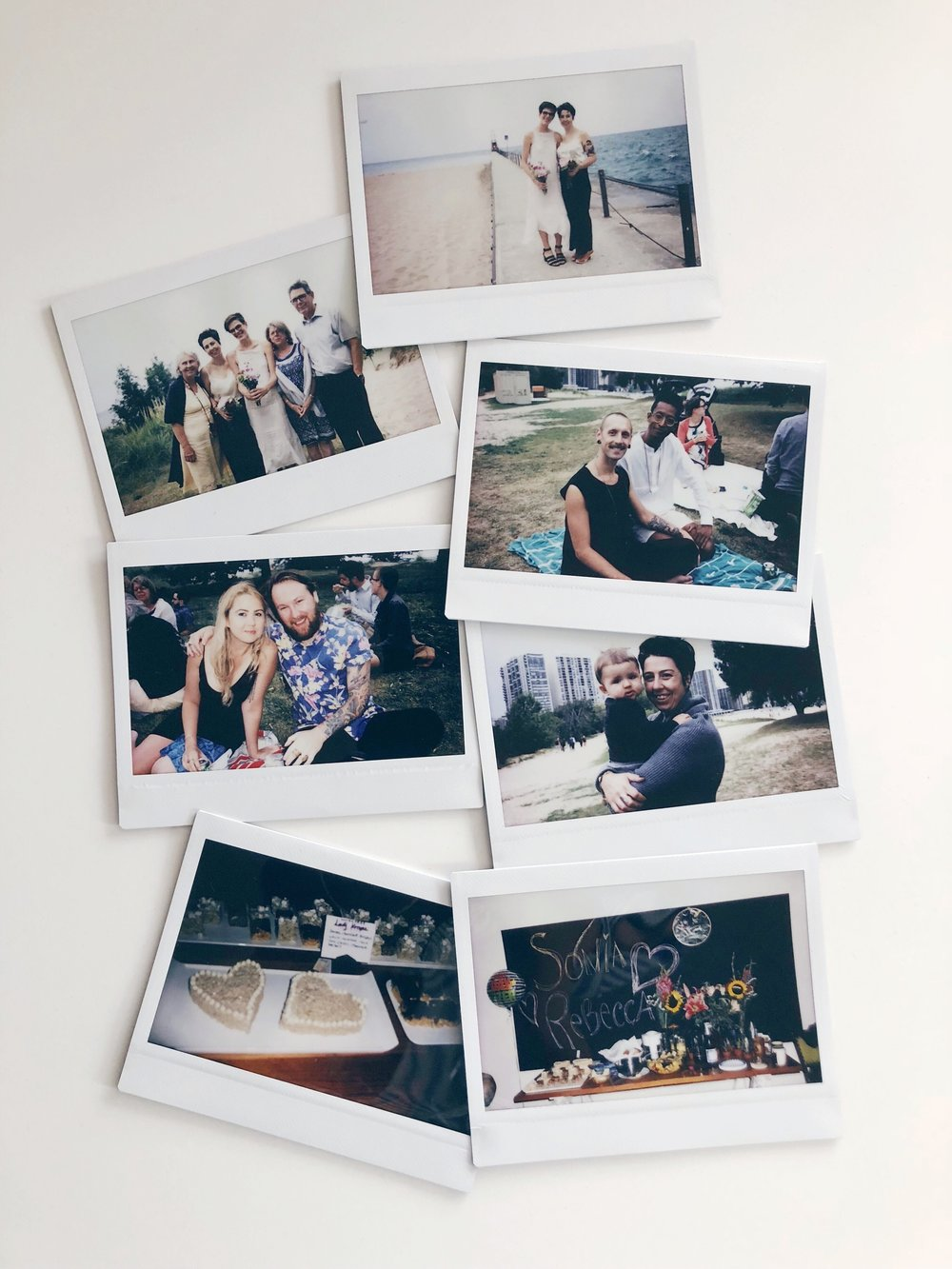 Best of the instax wedding photos