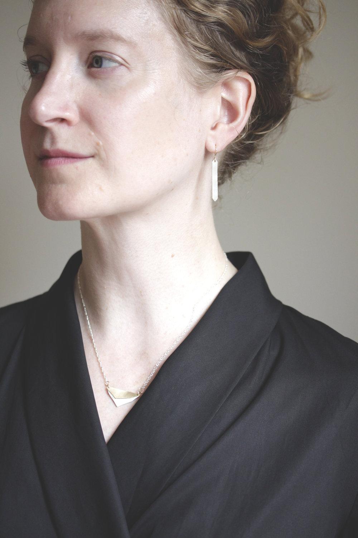 the  Sierra Madre  necklace +  Maestro  earrings