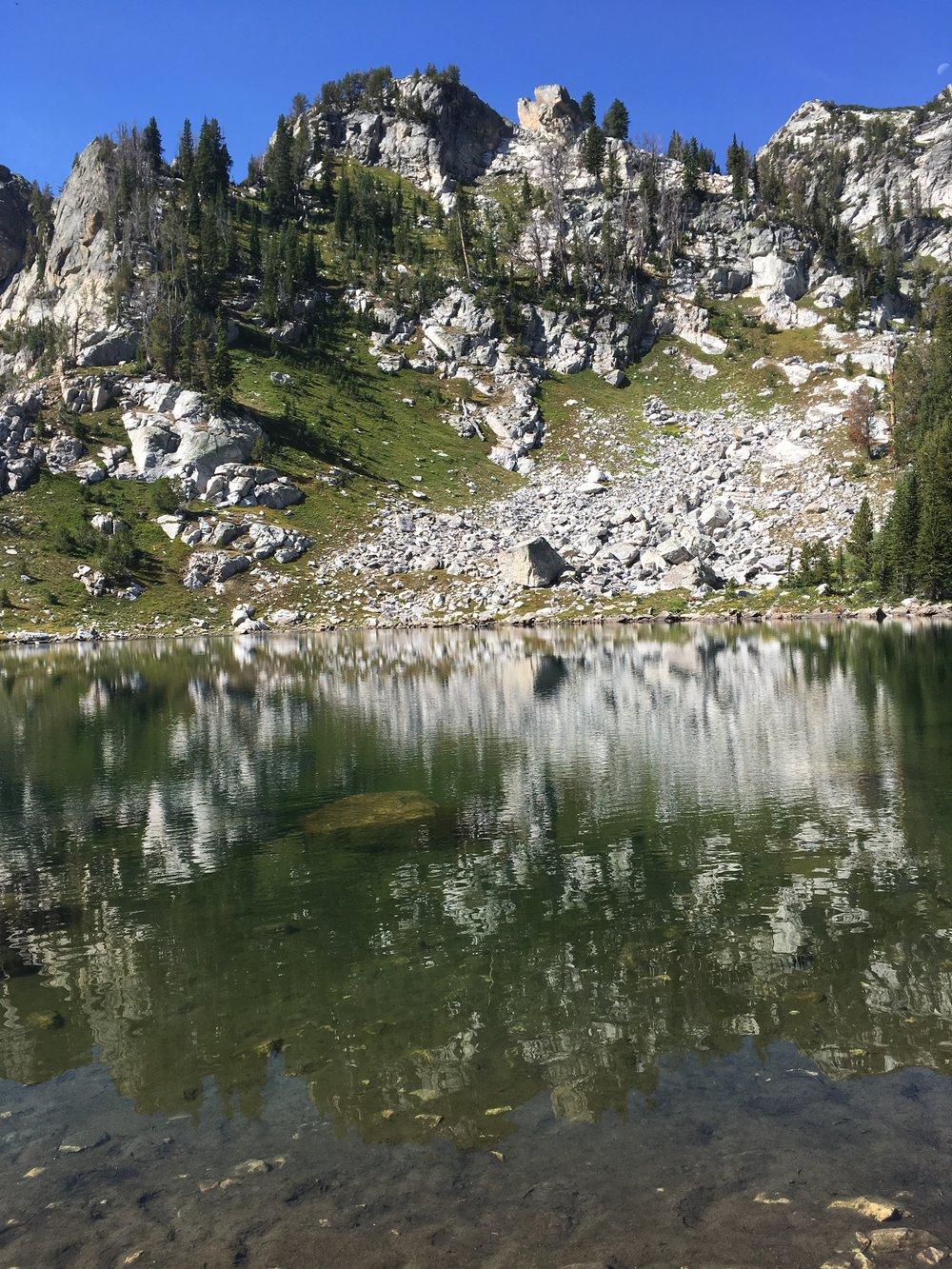 Cathedral Lake, Grand Teton National Park
