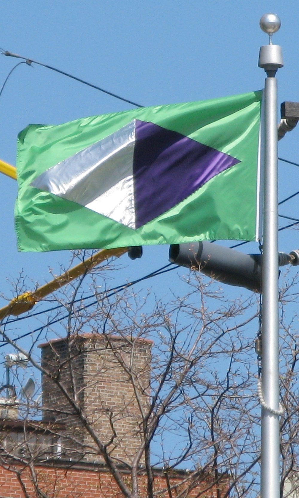 Rubaccaquon Flag at Temporary Allegiance, at UIC