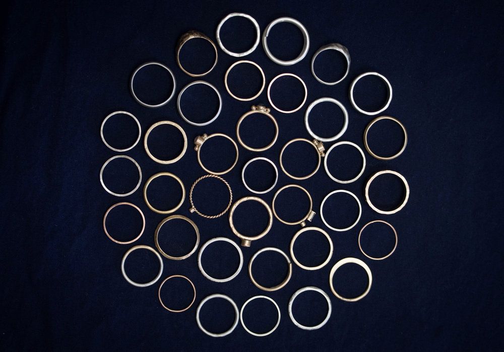 all the rings - rebecca mir grady