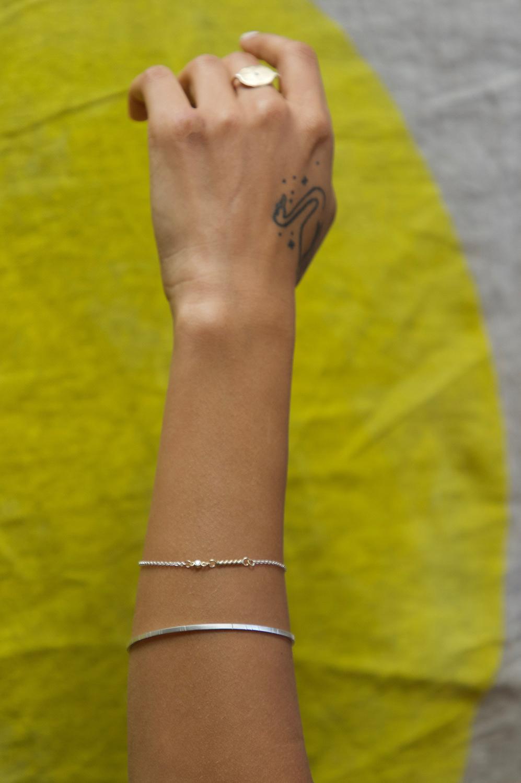 bracelets on sun painting