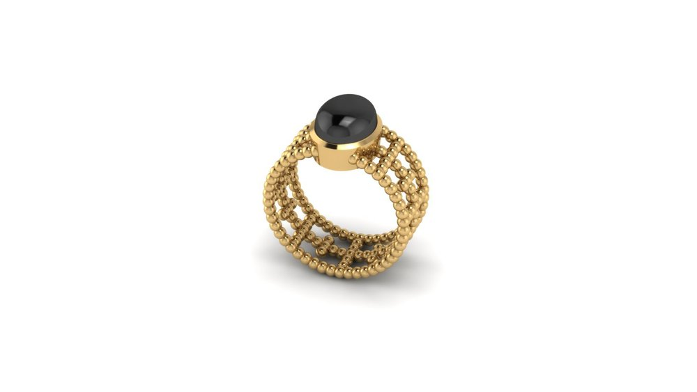 CABACHON BALL RING - ONYX.jpg