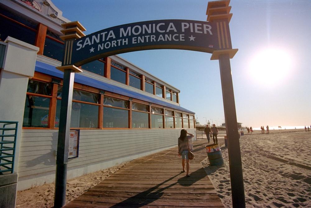 Santa Monica Pier Kodak Ektar  002