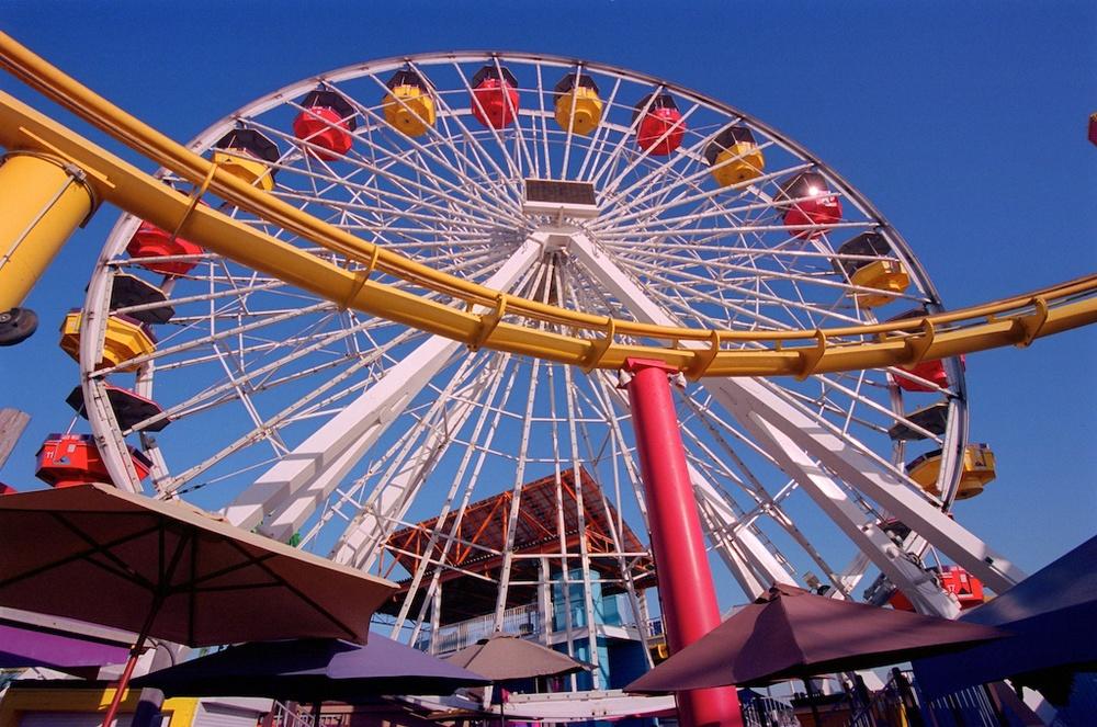 Santa Monica Pier Kodak Ektar  004