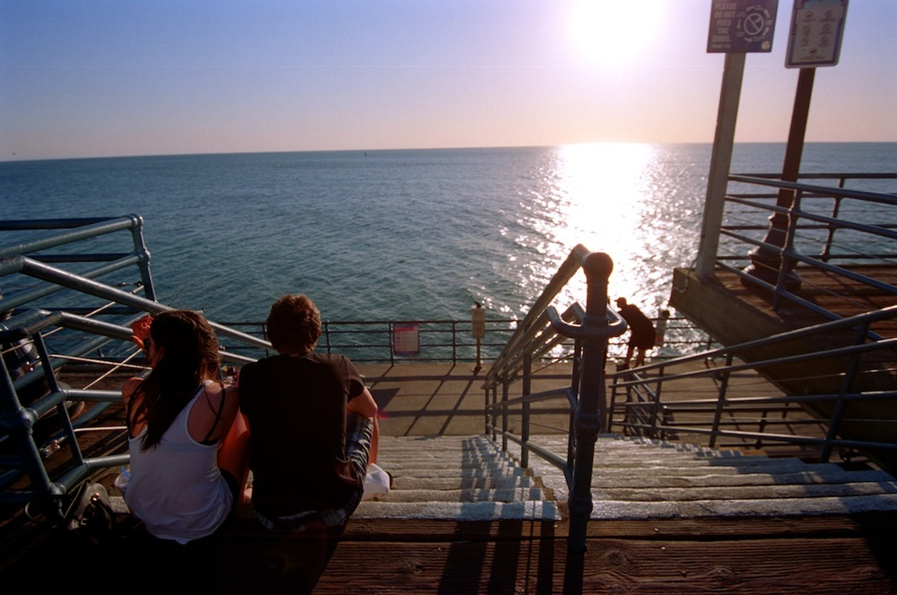 Santa Monica Pier Kodak Ektar  006
